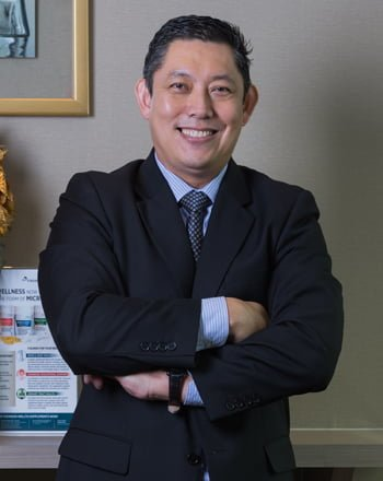 Dr Chiam Tut Fu Medical Director, Consultant Sports Medicine Physician | Health and Wellness Experts in Singapore