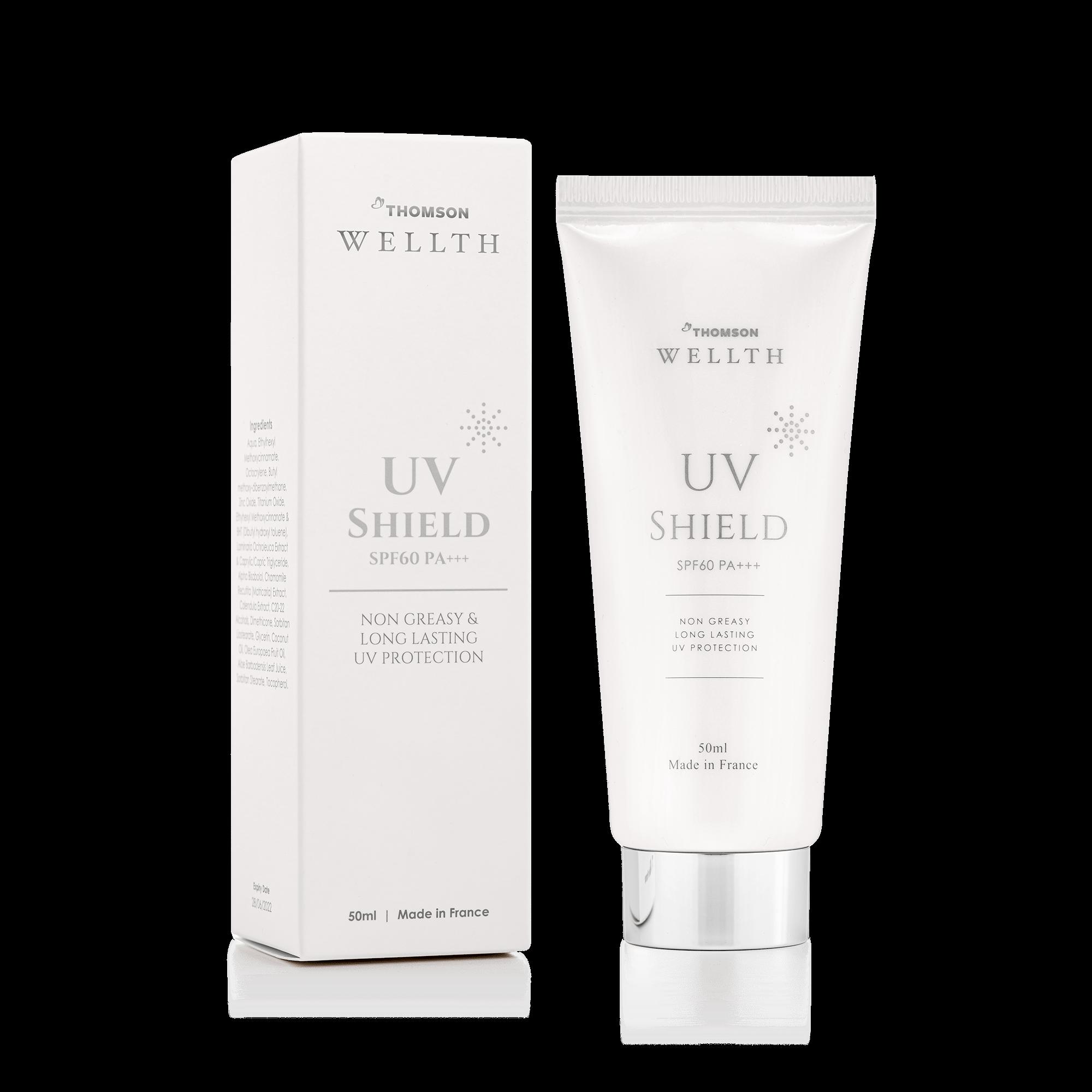 Thomson Wellth UV Shield Skincare Product