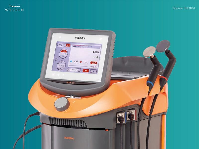 INDIBA Machine for Sports Injury Clinic