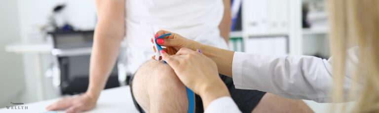 Sports Injury Specialist treating a patient